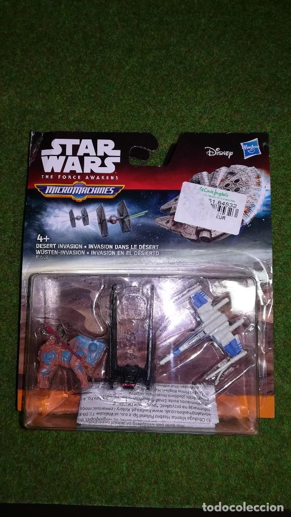 MICROMACHINES - STAR WARS - INVASION EN EL DESIERTO - MICRO MACHINES DISNEY HASBRO (Juguetes - Figuras de Acción - Star Wars)