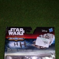 Figuras y Muñecos Star Wars: MICROMACHINES - STAR WARS - INVASION EN EL DESIERTO - MICRO MACHINES DISNEY HASBRO. Lote 115742347