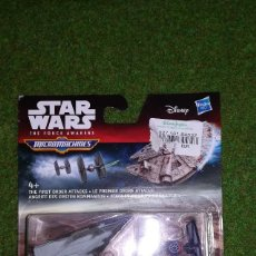 Figuras y Muñecos Star Wars: MICROMACHINES - STAR WARS - ATAQUES DE LA PRIMERA ORDEN - MICRO MACHINES DISNEY HASBRO. Lote 115961467