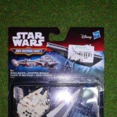 Figuras y Muñecos Star Wars: MICROMACHINES - STAR WARS - HUIDA ESPACIAL - MICRO MACHINES DISNEY HASBRO. Lote 115961743