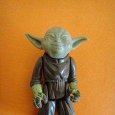 Figuras y Muñecos Star Wars: FIGURA STAR WARS YODA OJOS NARANJA . L.F.L. 1980 KENNER VINTAGE .. Lote 116160511