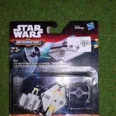 Figuras y Muñecos Star Wars: MICROMACHINES - STAR WARS - PERSECUCION DE EL INQUISIDOR - MICRO MACHINES DISNEY HASBRO. Lote 116208791