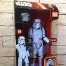 Figuras y Muñecos Star Wars: STAR WARS - STORMTROOPER - INTERACTIVO - LUCES SONIDOS - THINKWAY TOYS - 40 CM - PRECINTADO - NUEVO. Lote 116395627