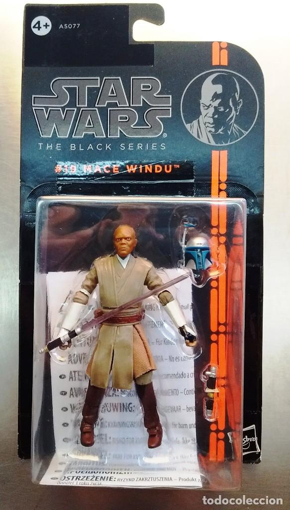 STAR WARS - THE BLACK SERIES - MACE WINDU (Juguetes - Figuras de Acción - Star Wars)