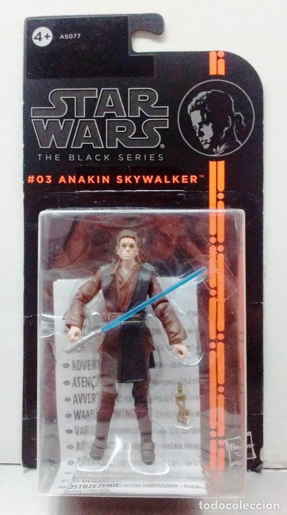 STAR WARS - THE BLACK SERIES - ANAKIN SKYWALKER (Juguetes - Figuras de Acción - Star Wars)