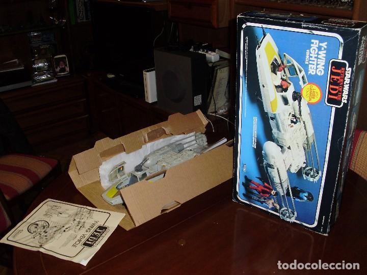 Figuras y Muñecos Star Wars: STAR WARS Y - WING VINTAGE 1983. RETORNO DEL JEDI. Y WING 3-2-1.... ¡¡¡¡ BOOOM !! - Foto 2 - 116580147