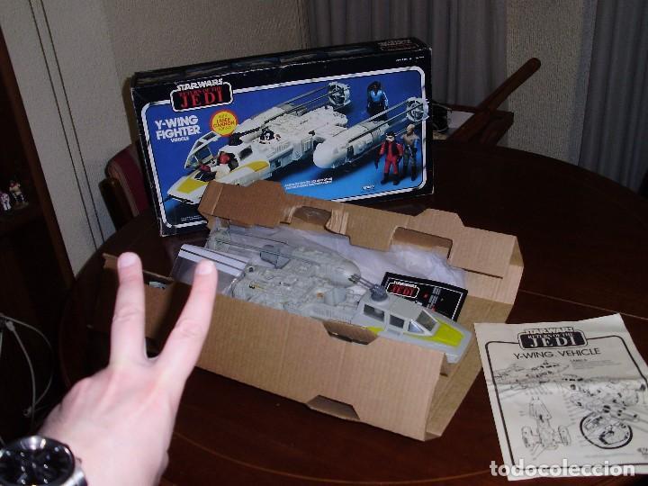 Figuras y Muñecos Star Wars: STAR WARS Y - WING VINTAGE 1983. RETORNO DEL JEDI. Y WING 3-2-1.... ¡¡¡¡ BOOOM !! - Foto 3 - 116580147
