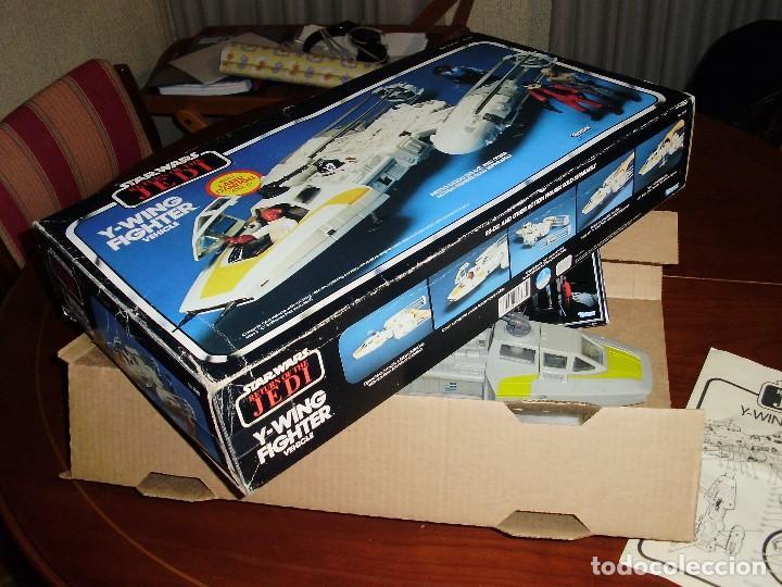 Figuras y Muñecos Star Wars: STAR WARS Y - WING VINTAGE 1983. RETORNO DEL JEDI. Y WING 3-2-1.... ¡¡¡¡ BOOOM !! - Foto 4 - 116580147