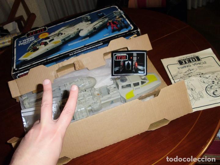 Figuras y Muñecos Star Wars: STAR WARS Y - WING VINTAGE 1983. RETORNO DEL JEDI. Y WING 3-2-1.... ¡¡¡¡ BOOOM !! - Foto 5 - 116580147