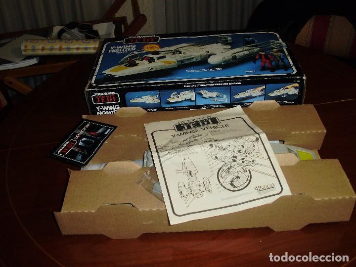 Figuras y Muñecos Star Wars: STAR WARS Y - WING VINTAGE 1983. RETORNO DEL JEDI. Y WING 3-2-1.... ¡¡¡¡ BOOOM !! - Foto 6 - 116580147