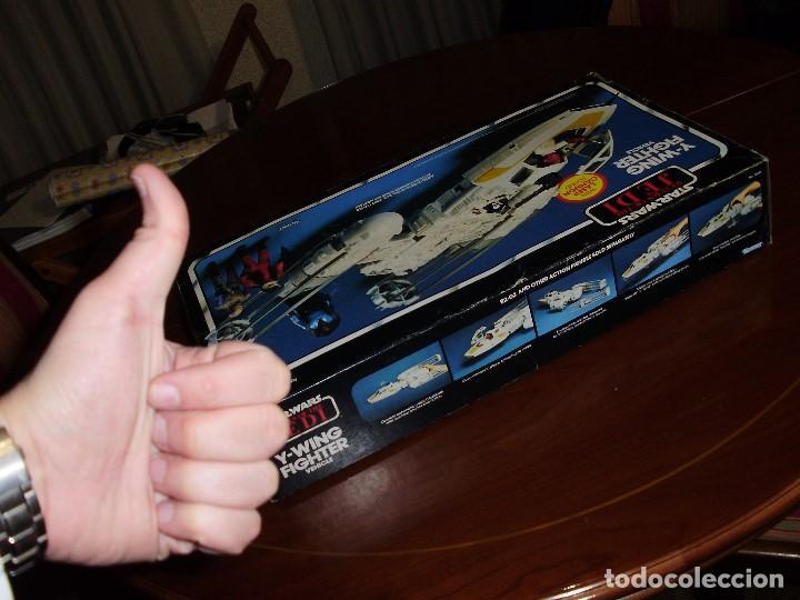 Figuras y Muñecos Star Wars: STAR WARS Y - WING VINTAGE 1983. RETORNO DEL JEDI. Y WING 3-2-1.... ¡¡¡¡ BOOOM !! - Foto 7 - 116580147