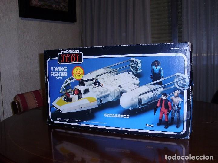 Figuras y Muñecos Star Wars: STAR WARS Y - WING VINTAGE 1983. RETORNO DEL JEDI. Y WING 3-2-1.... ¡¡¡¡ BOOOM !! - Foto 8 - 116580147
