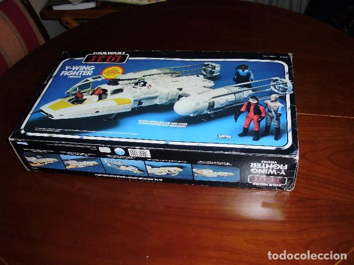 Figuras y Muñecos Star Wars: STAR WARS Y - WING VINTAGE 1983. RETORNO DEL JEDI. Y WING 3-2-1.... ¡¡¡¡ BOOOM !! - Foto 9 - 116580147