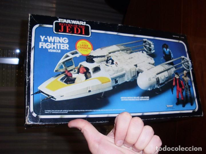 Figuras y Muñecos Star Wars: STAR WARS Y - WING VINTAGE 1983. RETORNO DEL JEDI. Y WING 3-2-1.... ¡¡¡¡ BOOOM !! - Foto 10 - 116580147