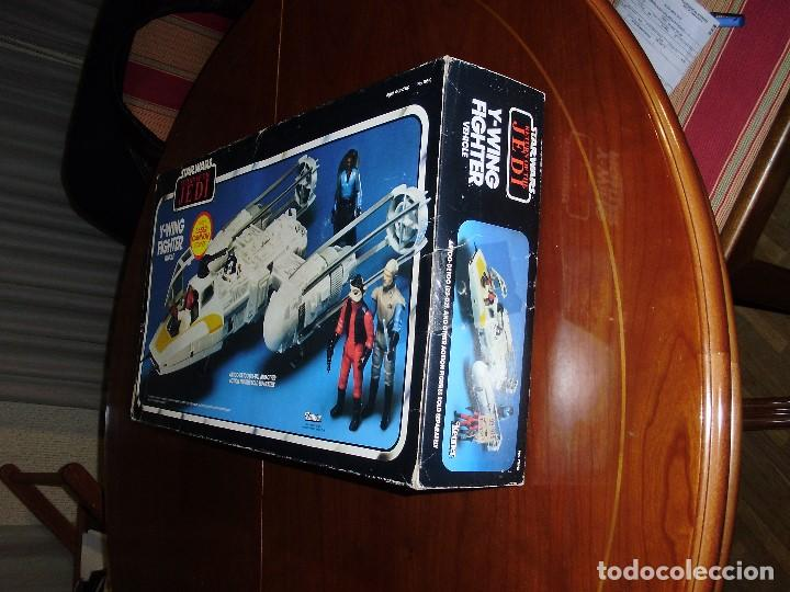 Figuras y Muñecos Star Wars: STAR WARS Y - WING VINTAGE 1983. RETORNO DEL JEDI. Y WING 3-2-1.... ¡¡¡¡ BOOOM !! - Foto 11 - 116580147