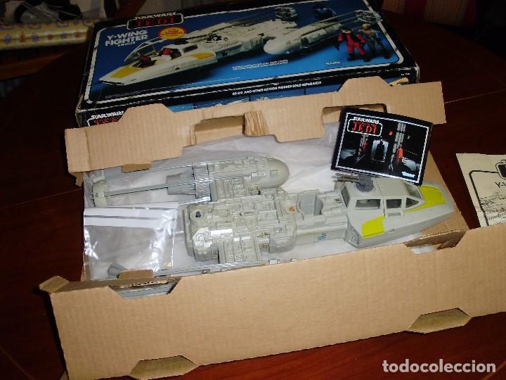 Figuras y Muñecos Star Wars: STAR WARS Y - WING VINTAGE 1983. RETORNO DEL JEDI. Y WING 3-2-1.... ¡¡¡¡ BOOOM !! - Foto 12 - 116580147