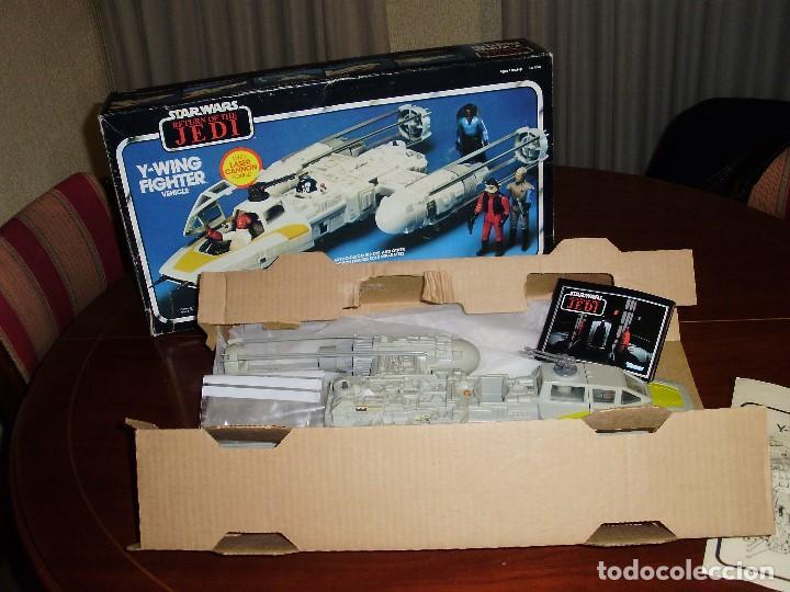 Figuras y Muñecos Star Wars: STAR WARS Y - WING VINTAGE 1983. RETORNO DEL JEDI. Y WING 3-2-1.... ¡¡¡¡ BOOOM !! - Foto 13 - 116580147