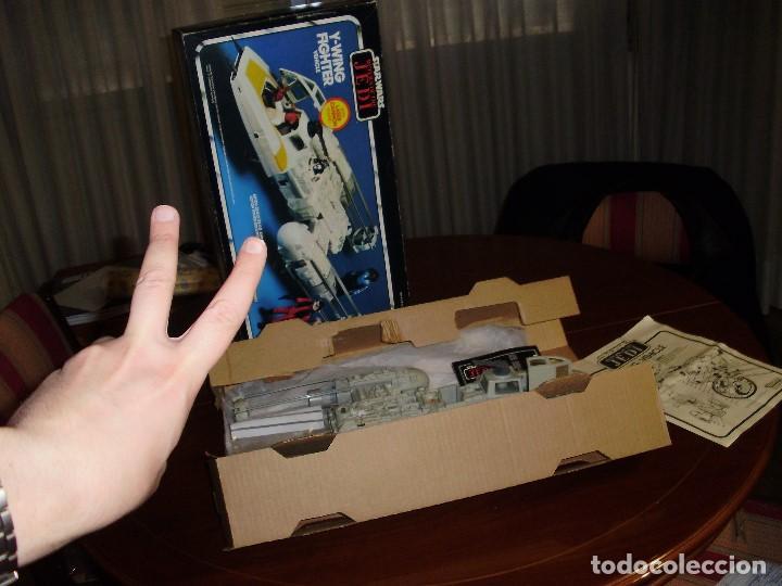 Figuras y Muñecos Star Wars: STAR WARS Y - WING VINTAGE 1983. RETORNO DEL JEDI. Y WING 3-2-1.... ¡¡¡¡ BOOOM !! - Foto 16 - 116580147