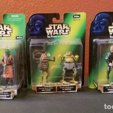 Figuras y Muñecos Star Wars: COLECCIÓN COMPLETA MAX REBO BAND PAIRS - STAR WARS KENNER - POWER OF THE FORCE. Lote 116772390
