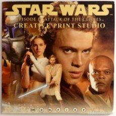 Figuras y Muñecos Star Wars: CD EPISODE 2 ATTACK OF THE CLONES PARA PC. Lote 116868411