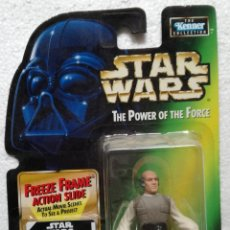 Figuras y Muñecos Star Wars: FIGURA STAR WARS: THE POWER OF THE FORCE: LOBOT - NUEVA EN SU BLISTER (A-D). Lote 117079675