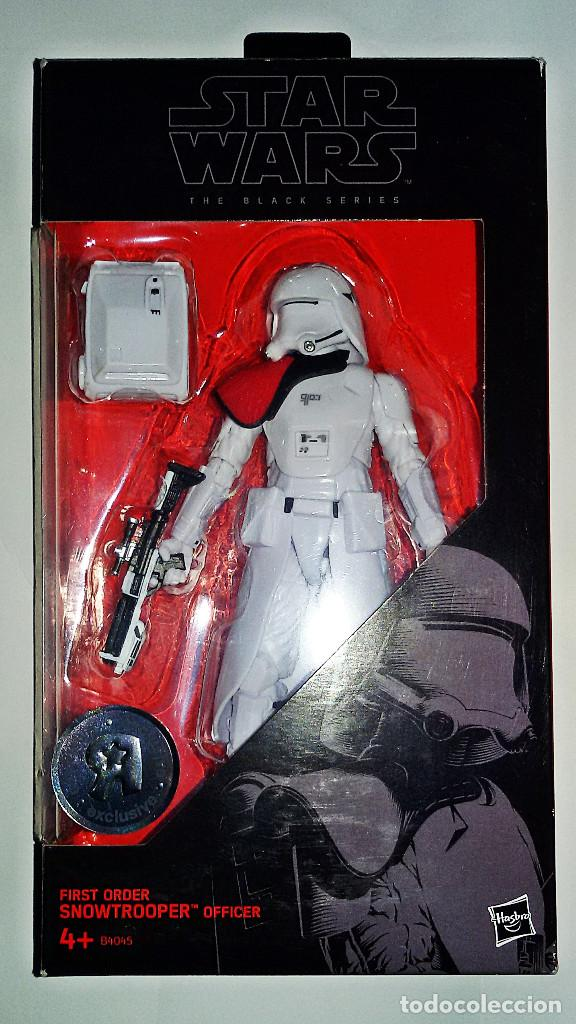 STAR WARS # SNOWTROOPER OFFICER # THE BLACK SERIES, 15 CM APROX - NUEVO EN SU BLISTER DE HASBRO. (Juguetes - Figuras de Acción - Star Wars)