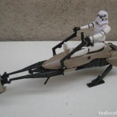 Figuras y Muñecos Star Wars: SPEEDER BIKE - STAR WARS - CON FIGURA ARTICULADA - LUCAS FILM - AÑO 1983.. Lote 117379003