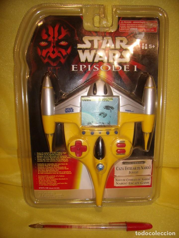 STAR WARS EPISODIO I, CAZA ESTELAR DE NABOO, AÑO 1999, JUEGO, DE HASBRO, NUEVO. (Juguetes - Figuras de Acción - Star Wars)