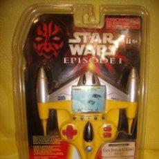 Figuras y Muñecos Star Wars: STAR WARS EPISODIO I, CAZA ESTELAR DE NABOO, AÑO 1999, JUEGO, DE HASBRO, NUEVO.. Lote 118150487