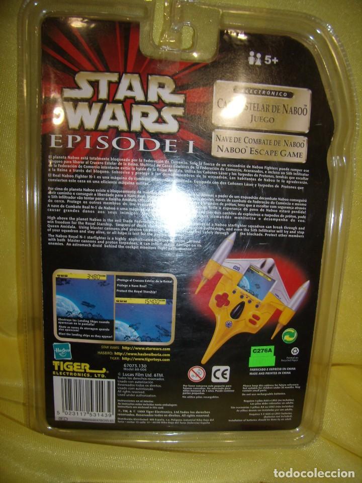 Figuras y Muñecos Star Wars: Star Wars Episodio I, Caza Estelar de Naboo, año 1999, Juego, de Hasbro, Nuevo. - Foto 5 - 118150487