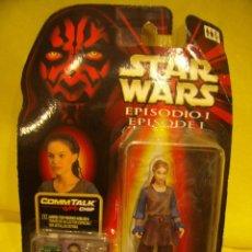 Figuras y Muñecos Star Wars: STAR WARS EPISODIO I PADMÉ NABERRIE DE HASBRO, AÑO 1999. CON DISPOSITIVO HABLADOR, NUEVO SIN ABRIR.. Lote 118169875