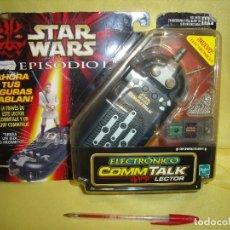 Figuras y Muñecos Star Wars: STAR WARS EPISODIO I ELECTRÓNICO COMMTALK LECTOR DE HASBRO, AÑO 1999. , NUEVO.. Lote 118170763