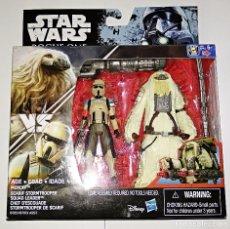 Figuras y Muñecos Star Wars: STAR WARS # MOROFF & SCARIF STORMTROOPER # ROGUE ONE - NUEVO EN SU BLISTER ORIGINAL DE HASBRO.. Lote 118485366