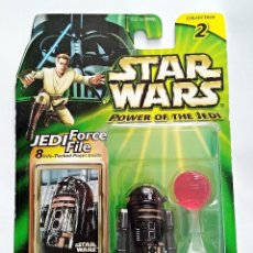 Figuras y Muñecos Star Wars: STAR WARS # R2-Q5 # POWER OF THE JEDI - NUEVO EN SU BLISTER ORIGINAL DE HASBRO.. Lote 118490335