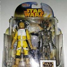 Figuras y Muñecos Star Wars: STAR WARS # BOSSK & IG-88 # REBELS - NUEVO EN SU BLISTER ORIGINAL DE HASBRO.. Lote 118576267