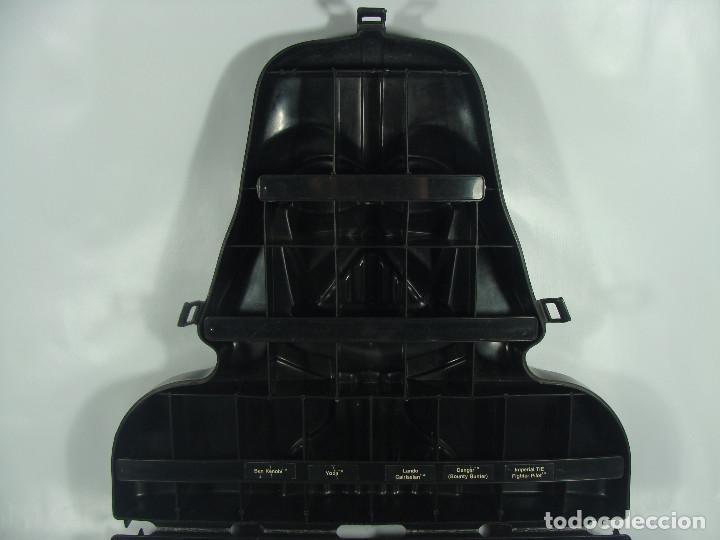 Figuren von Star Wars: Darth Vader - Carry case (maleta) para guardar figuras - Vintage Kenner trilogía original ESB 1980 - Foto 7 - 118697171