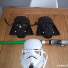 Figuras y Muñecos Star Wars: LOTE DE MÁSCARAS DE STAR WARS.DE LUCAS FILM. Lote 118702531