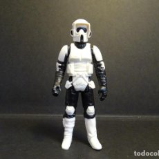 Figuras y Muñecos Star Wars: BIKER SCOUT - VINTAGE - STAR WARS - STARWARS - EL RETORNO DEL JEDI - HONG KONG 1983 - STORMTROOPER. Lote 118724690