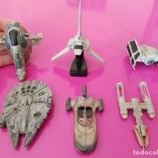 Figuras y Muñecos Star Wars: COLECCIÓN LOTE NAVES STAR WARS PLOMO. Lote 119068639