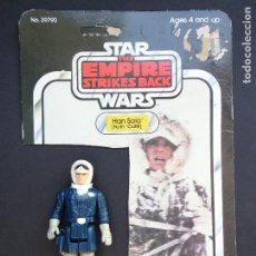 Figuras y Muñecos Star Wars: HAN SOLO HOTH + CARD - STAR WARS VINTAGE - EMPIRE STRIKES BACK - KENNER 1980'S. Lote 119224295
