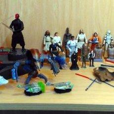 Figuras y Muñecos Star Wars: STAR WARS - LOTE VARIADO UNIVERSO STAR WARS. Lote 121731399