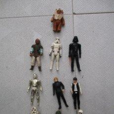 Figuras y Muñecos Star Wars: LOTE DE 11 FIGURAS STAR WARS ORIGINALES -1ª GENERACION INCLUYE HAN SOLO / LUKE / DARTH VADER ET. Lote 121898327