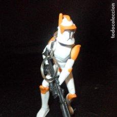 Figuras y Muñecos Star Wars: CLON TROOPER- FIGURA PVC LLAVERO - LFL 2009. Lote 122115563