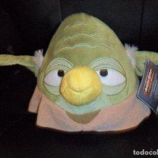 Figuras y Muñecos Star Wars: YODA ANGRY BIRDS PELUCHE - STAR WARS - NUEVO. Lote 122118335
