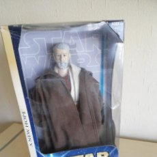 Figuras y Muñecos Star Wars: OBI-WAN KENOBI - TATOONIE ENCOUNTER - STAR WARS HASBRO 2003 - A NEW HOPE - 30CM NUEVA. Lote 122407355