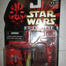 Figuras y Muñecos Star Wars: NABOO ACCESSORY SET STAR WARS EPIDODIO I NUEVO SIN ABRIR. Lote 122452479