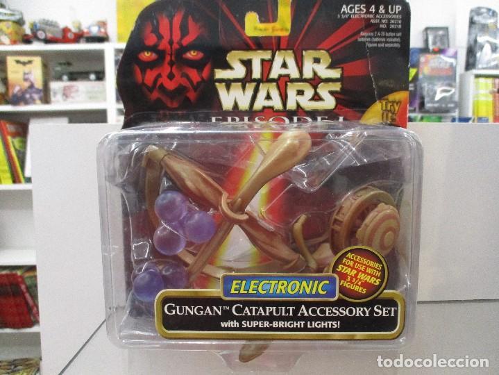 GUNGAN CATAPULT CON ACCESORIOS STAR WARS EPISODIO I NUEVO SIN ABRIR (Juguetes - Figuras de Acción - Star Wars)