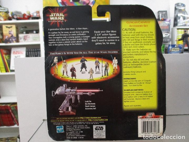 Figuras y Muñecos Star Wars: GUNGAN CATAPULT CON ACCESORIOS STAR WARS EPISODIO I NUEVO SIN ABRIR - Foto 2 - 122454091