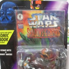 Figures and Dolls Star Wars - SHADOWS OF THE EMPIRE BOBA FETT VERSUS IG-88 INCLUYE COMIC STAR WARS NUEVO SIN ABRIR - 122456519