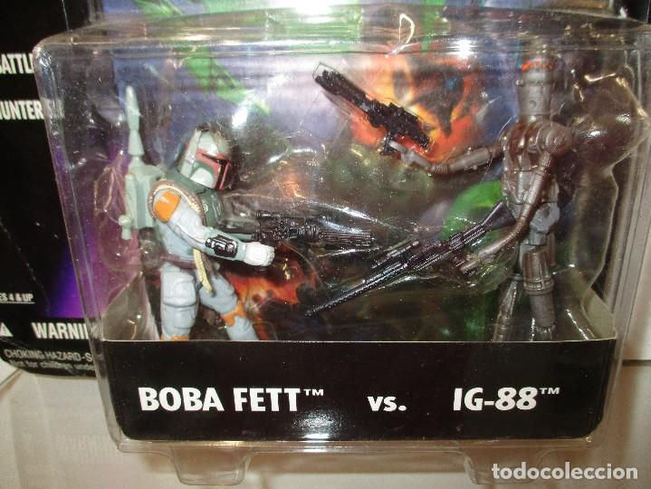 Figuras y Muñecos Star Wars: SHADOWS OF THE EMPIRE BOBA FETT VERSUS IG-88 INCLUYE COMIC STAR WARS NUEVO SIN ABRIR - Foto 2 - 122456519
